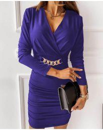 Šaty - kód 8999 - fialová