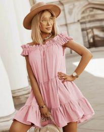 Šaty - kód 6969 - růžová