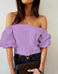Košile - kód 3525 - světle fialová