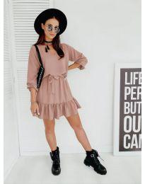 Šaty - kód 4146 - růžová