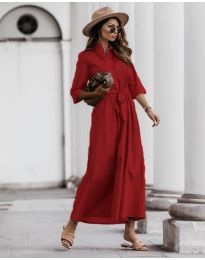 Šaty - kód 0900 - červená