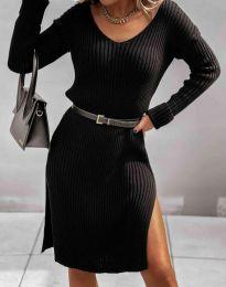 Šaty - kód 6829 - černá