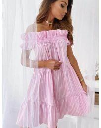 Šaty - kód 0299 - růžová