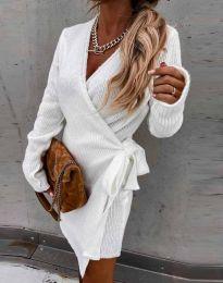 Šaty - kód 9846 - bíla
