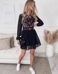 Šaty - kód 3482 - černá