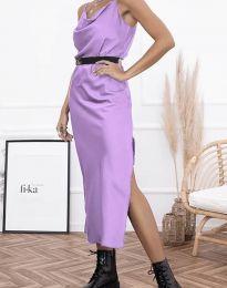 Šaty - kód 6231 - světle fialová