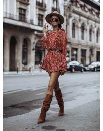Šaty - kód 0701 - červená