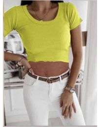 Tričko - kód 530 - neon žuta