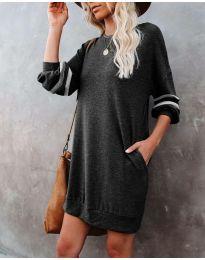 Šaty - kód 5925 - černá