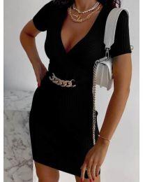 Šaty - kód 4305 - černá