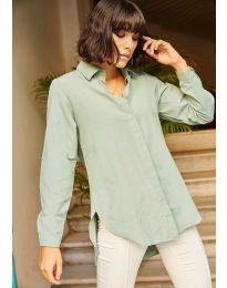 Košile - kód 10508 - 4 - mentolová