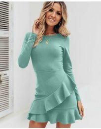 Šaty - kód 2909 - mentolová