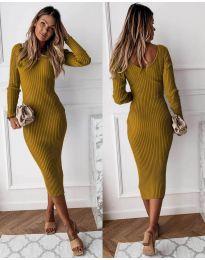 Šaty - kód 928 - cappuccino