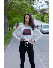 Tričko - kód 987 - bílá