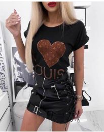 Tričko - kód 984 - černá