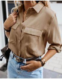 Košile - kód 6148 - hněda