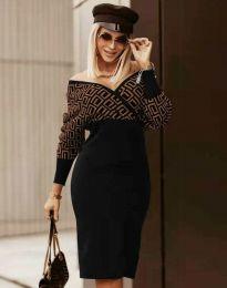 Šaty - kód 8296 - vícebarevné