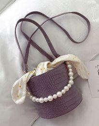 kabelka - kód B428 - fialová