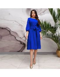 Šaty - kód 4571 - tmavě modrá