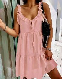 Šaty - kód 2540 - růžová