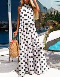 Šaty - kód 0288 - 2 - bíla