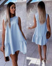 Šaty - kód 3456 - světle modrá