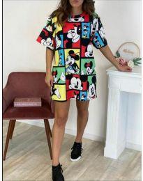 Šaty - kód 006 - vícebarevné