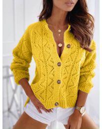 Kardigan - kód 6533 - žlutá