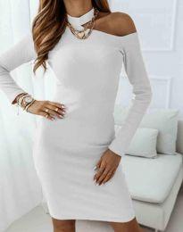 Šaty - kód 0984 - 1 - bíla