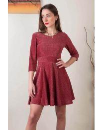 Šaty - kód 923 - bordeaux