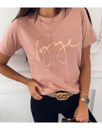 Tričko - kód 3350 - růžová