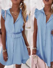 Šaty - kód 7411 - světle modrá