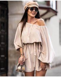 Šaty - kód 324 - bežová