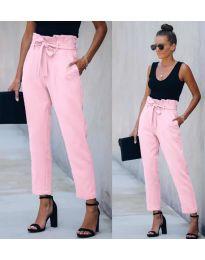 Kalhoty - kód 6077 - 2 - růžová