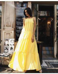 Šaty - kód 1105 - žlutá