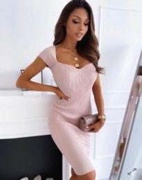 Šaty - kód 0992 - světle růžová