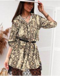 Šaty - kód 3635 - 4 - vícebarevné