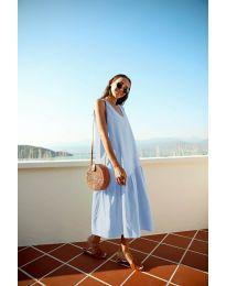 Šaty - kód 8810 - modrý