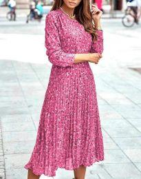 Šaty - kód 1418 - růžova