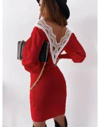 Šaty - kód 1718 - červená