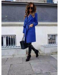 Kabát - kód 7940 - modrá