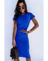 Šaty - kód 682 - modrá