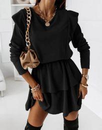 Šaty - kód 12042 - černá