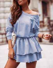 Šaty - kód 0525 - světle modrá