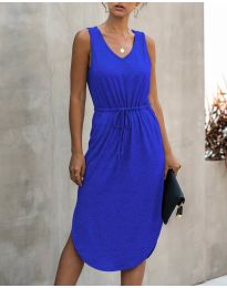 Šaty - kód 681 - modrá