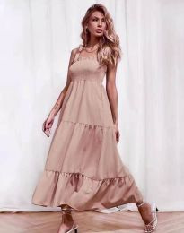 Šaty - kód 1729 - pudrová