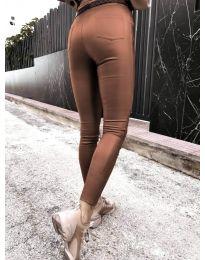 Kalhoty - kód 2788 - 6 - hnědý