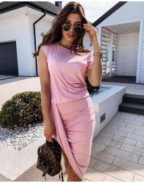 Šaty - kód 138 - růžová