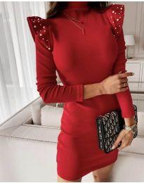 Šaty - kód 9494 - červená