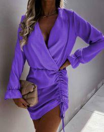 Šaty - kód 4271 - fialová